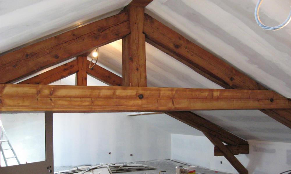 Peindre un plafond avec des poutres amazing tlcharger en for Peindre un plafond avec des poutres