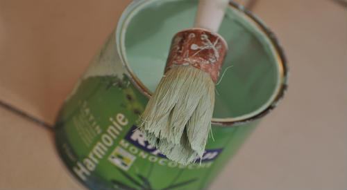nettoyage pinceau acrylique