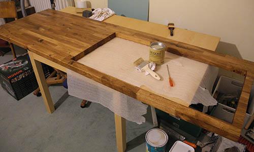 Choisir son peinture pour peindre un plan de travail en bois stratifié