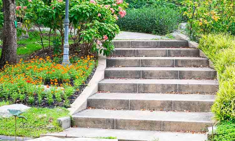 peindre escalier beton
