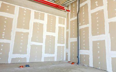 Peindre un mur en placo : la peinture pour plaque de plâtre