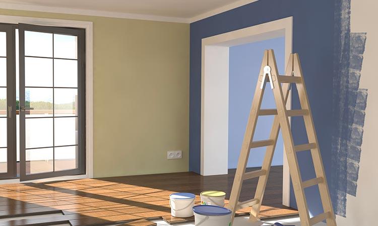 peindre un mur sans trace de rouleau comment peindre. Black Bedroom Furniture Sets. Home Design Ideas
