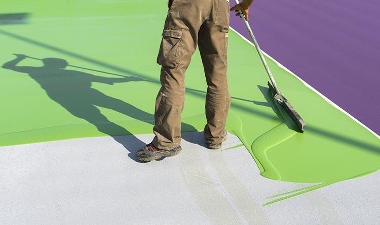 peindre dalle terrasse