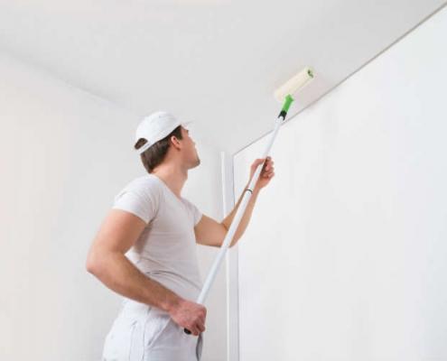 bien peindre plafond