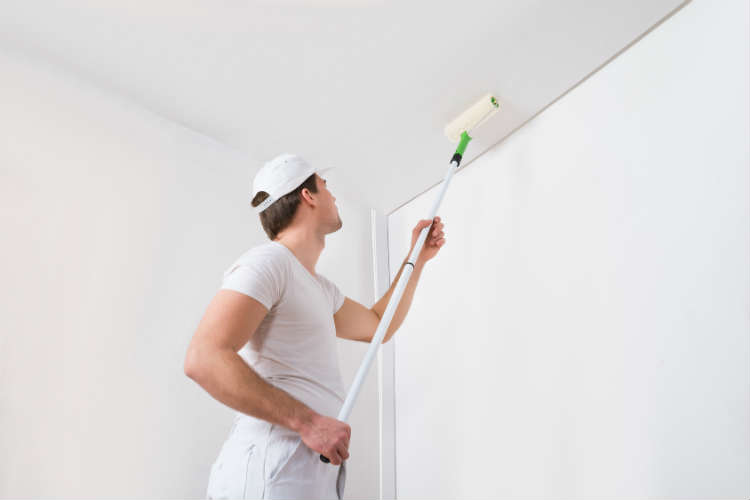 Bien peindre un plafond comment peindre - Video comment peindre un plafond ...