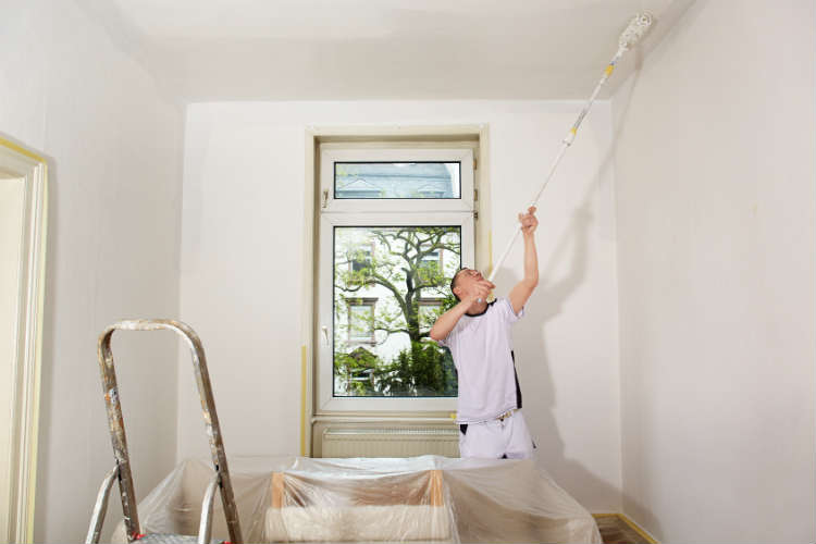 choix peinture plafond