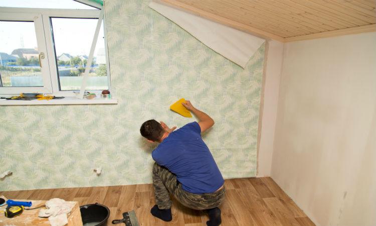 Détapisser un mur - Méthode pour décoller le papier peint - Comment Peindre