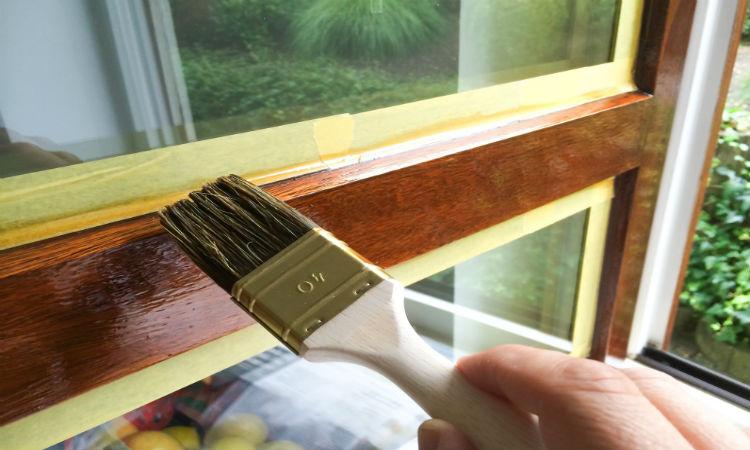 Peinture cerusee pour support en bois