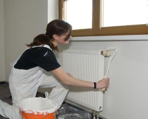 Peindre radiateur
