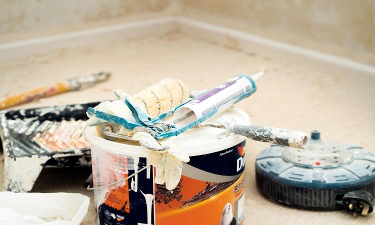 Reparation et peinture de carrelage